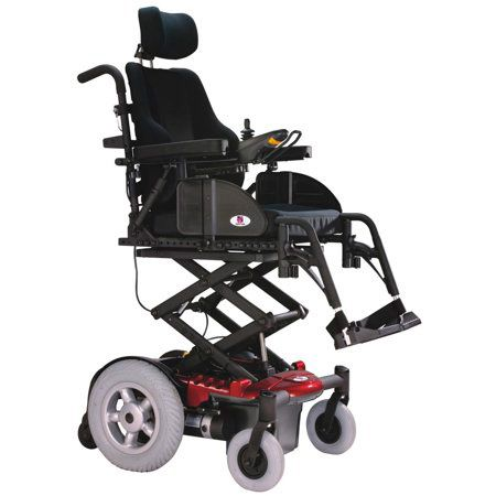 Electric Wheelchair with a Lift Seat Elevator: photo