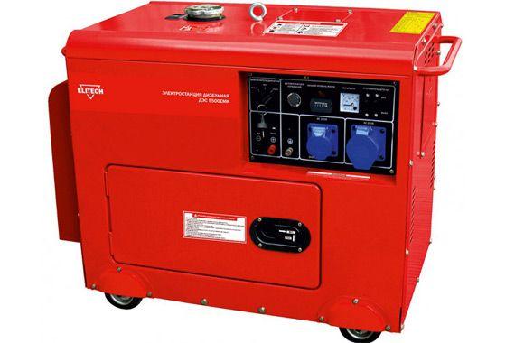 Дизельной генератор elitech dehs 8000emk: фото
