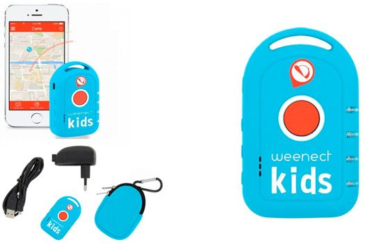 GPS Tracker for Your Kids Weenect Kids: photo