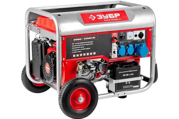 Газовый генератор zubr zehsg 5500: фото