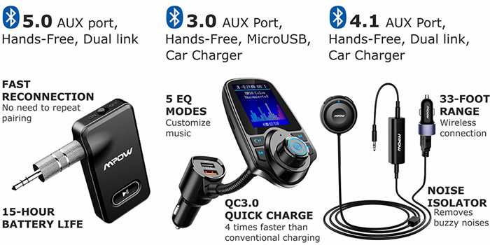 Top 5 Best Bluetooth Car Adapters Buyer S Guide 2020
