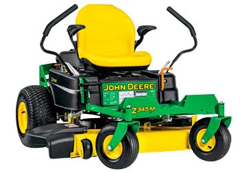 John Deere Z345M Zero-Turn Mower: photo