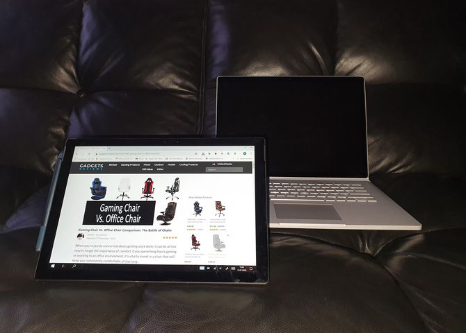 Microsoft Surface Pro 6 Tablet: photo