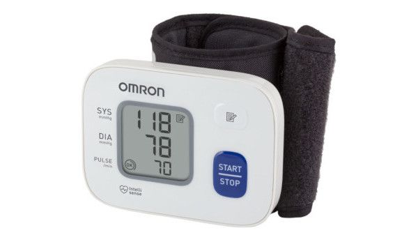 Тонометр Omron RS2 HEM 6121 RU: фото