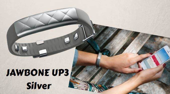 Jawbone UP3 silver edition