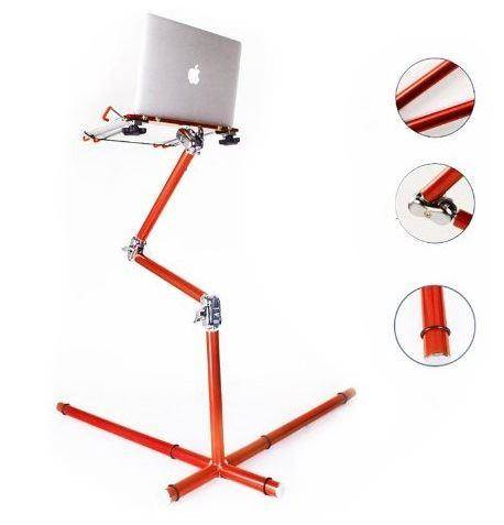 Koolertron New Red Aluminum Nottable Laptop Stand