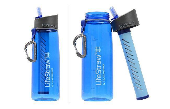 lifestraw go water bottle with filter