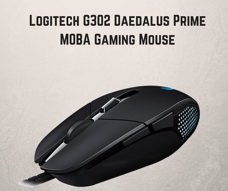 logitech G302 Daedalus Gaming Mouse