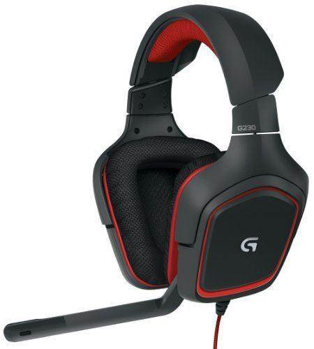 Logitech G230 Stero Gaming Headset