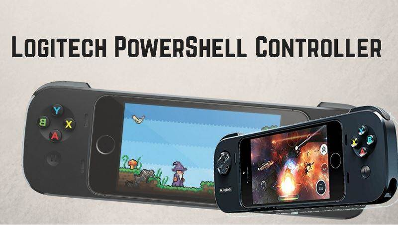 Logitech Powershell iOs gamepad