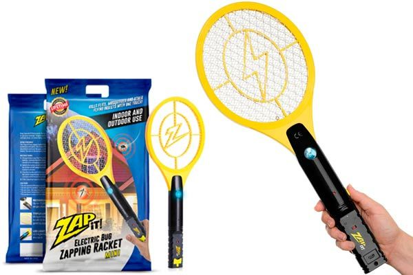 Mini Electric Mosquito Racket: photo