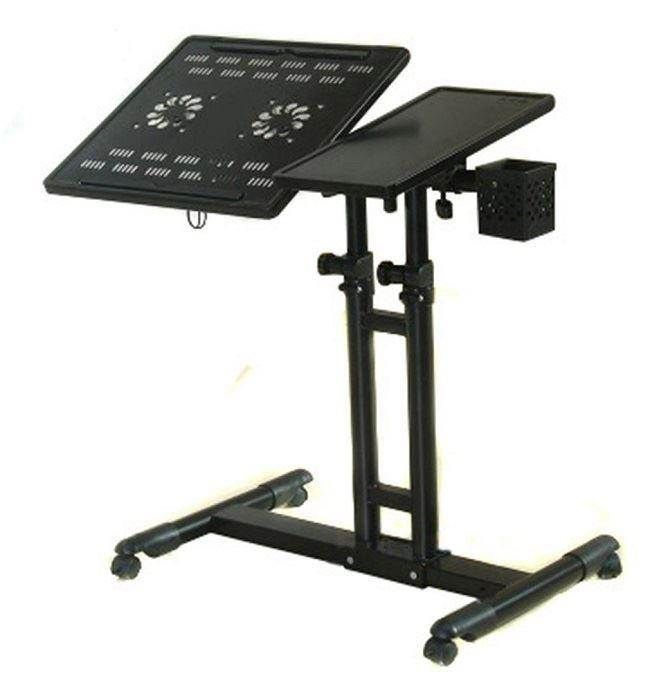 PAG 4 Wheels Laptop Cooling Desk