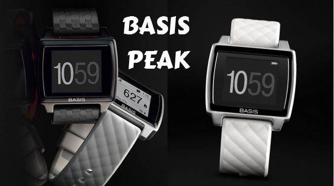 Basis Peak tracker black and white edition