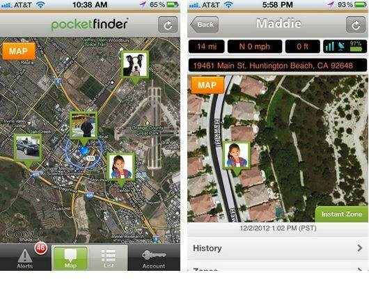 Pocket Finder Outdoor Personal GPS Locator