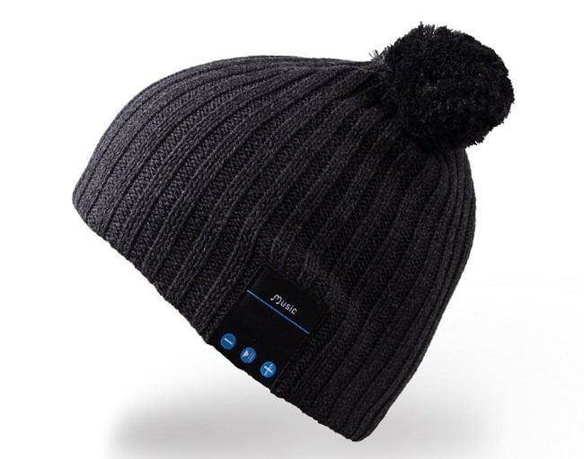 Wireless Bluetooth Beanie Pom Pom Hat