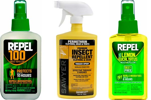repellents from insects: photo