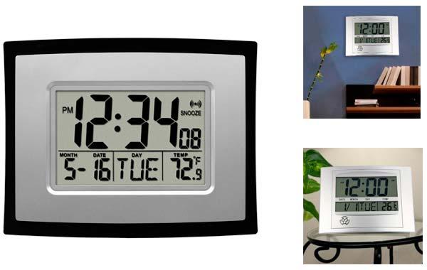 цифровые часы с термометром: фото