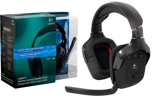Logitech Wireless Gaming Headset G930: foto