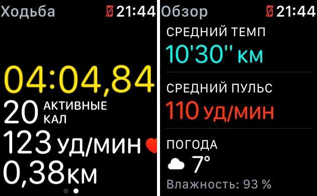 GPS в apple watch s2