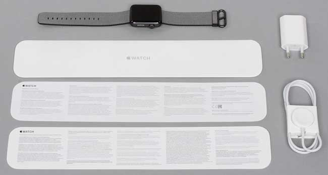 Комплектация Apple Watch