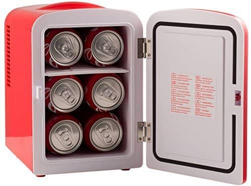 Gourmia mini fridge: photo