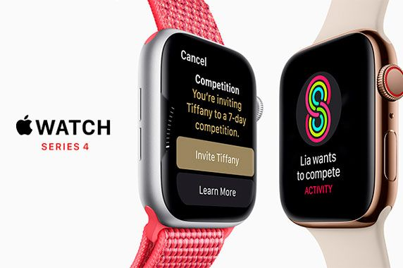 Apple Watch Series 4: фото