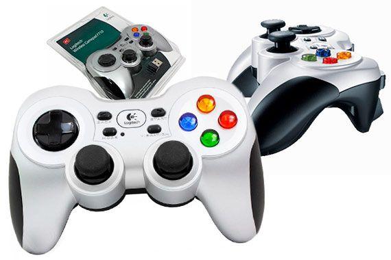 Logitech Wireless Gamepad F710: фото