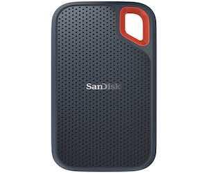 Внешний диск SSD SanDisk 250GB Extreme: фото