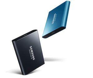 Жесткий диск Samsung Portable SSD T5 250Gb: фото