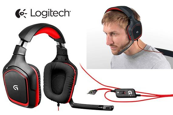 Logitech G230 Stereo Gaming Headset: фото