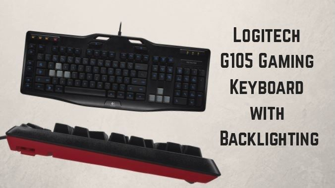 Logitech G105 Gaming Keyboard with Backlighting
