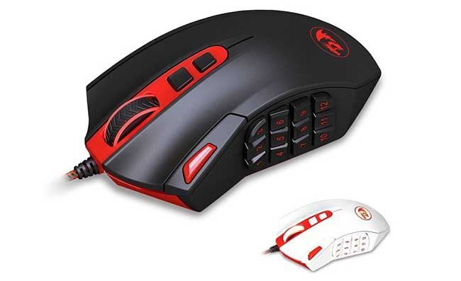 мышь Redragon Perdition Programmable Laser Gaming Mouse for PC, MMO