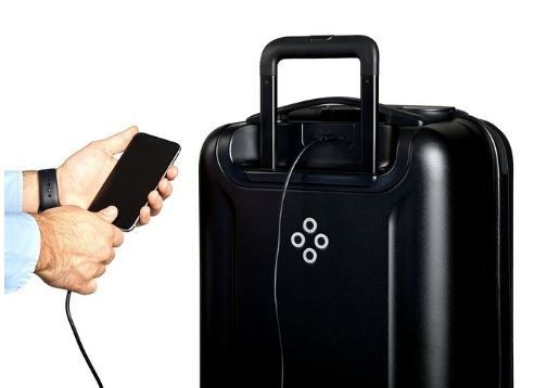 умный чемодан Bluesmart Black Edition - Smart Luggage