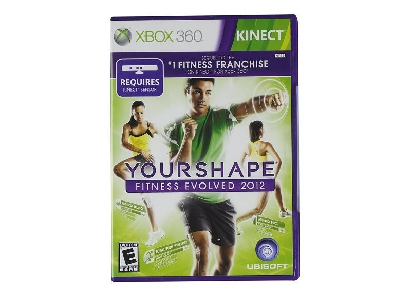 Your Shape Fitness Evolved 2012 для xbox kinect