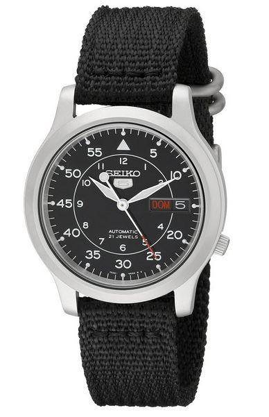 Seiko Men's SNK809 Seiko 5 Automatic Stainless Steel Watch