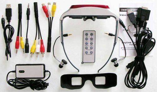 the full set of video glasses