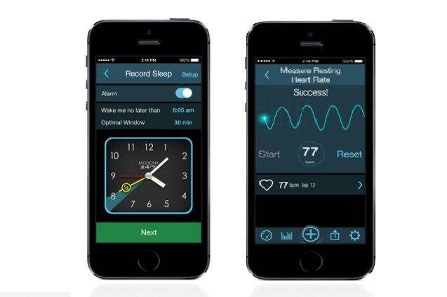 smart wake up function of a sleep tracker