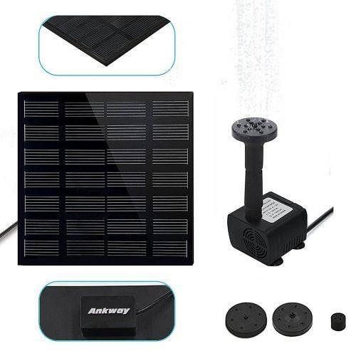 Universal Solar Fountain Pumps Line