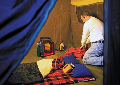 Mr Heater Buddy portable radiant heater photo & TOP-5 tent heaters from $30 up to $600