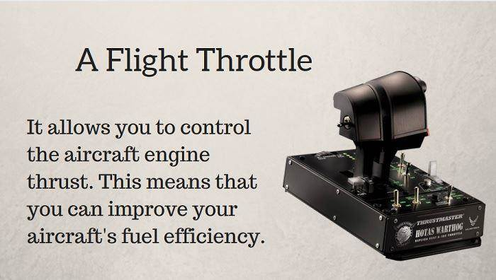 how to choose a flight throttle