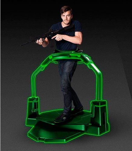 Virtuix Omni VR treadmill: photo