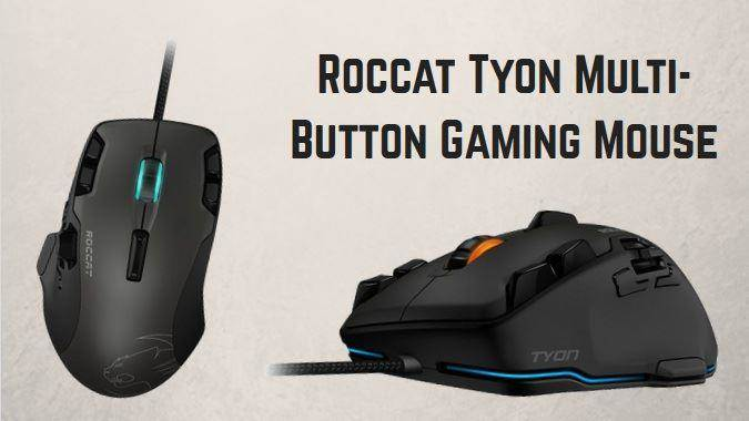 Roccat Tyon Multi-Button Gaming Mouse