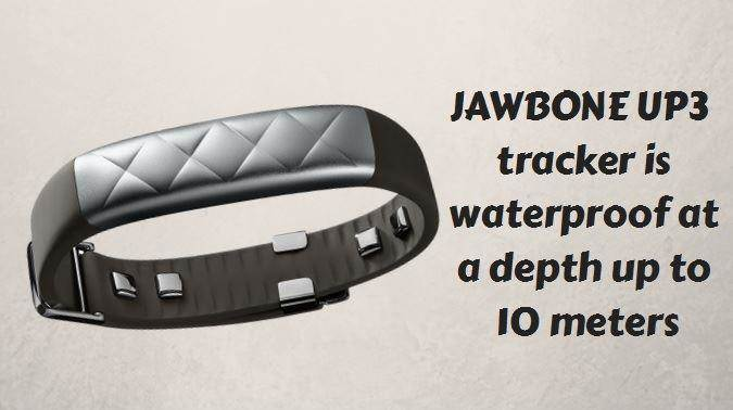 jawbone up 3 waterpoof fitness tracker