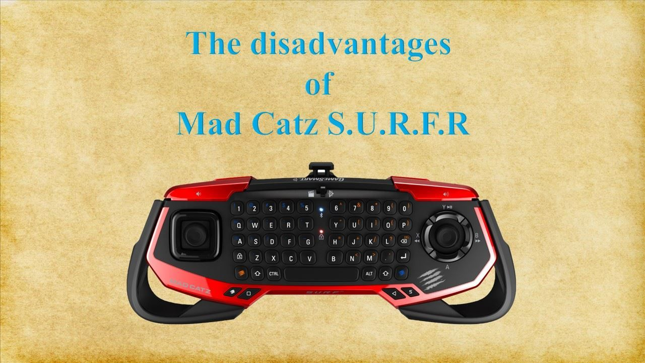 Mad Catz SURFR