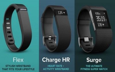 Fitbit fitness trackers comparison
