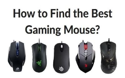 Choose the best gaming mouse for MMORPG, RTS & FPS