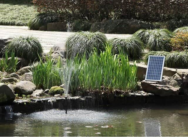 best solar water fountains