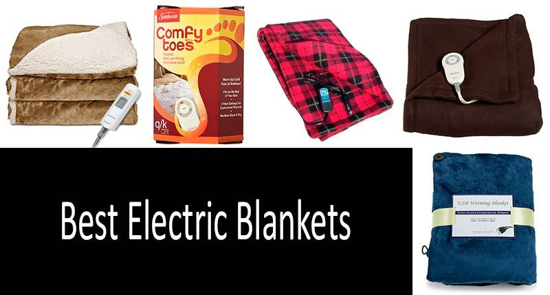 10 Best Electric Blankets To Keep You Warm At Home In The Office On Vacation Or When Camping Everything Need Know Picking An Blanket