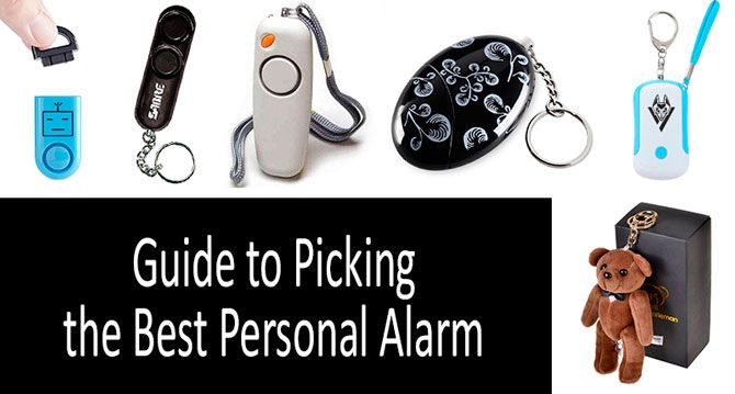 Top-10 Best Personal Alarms from $5 to $19 in 2019