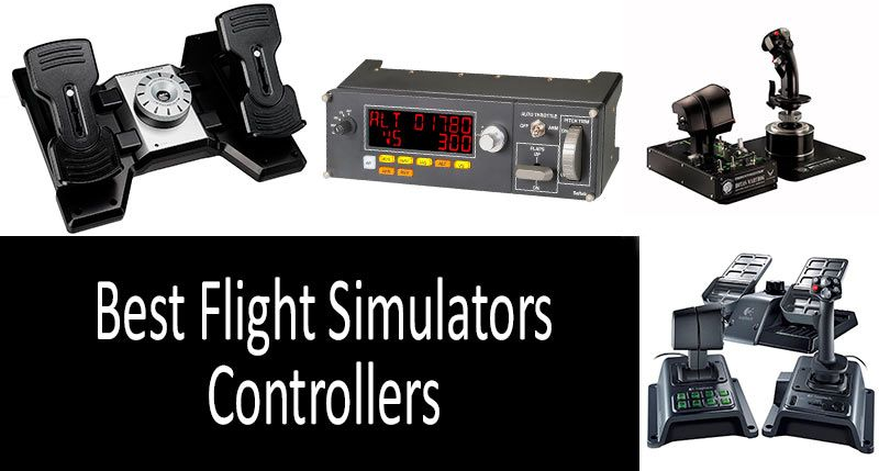 Best Controllers for Flight Simulators: Stick, Throttle